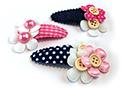 Luxe haarspeldjes en haarknipjes voor baby, peuter en kleuter