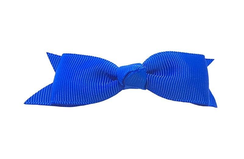 Mooi haarstrikje van kobalt blauw lint op een handig alligatorknipje. Leuk voor kleine meisjes en grotere meisjes.